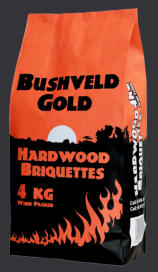 hardwood briquettes - Highveld Gold
